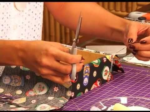 Fazendo Arte - forração em tecido (26.09.13) Adorooooooo!