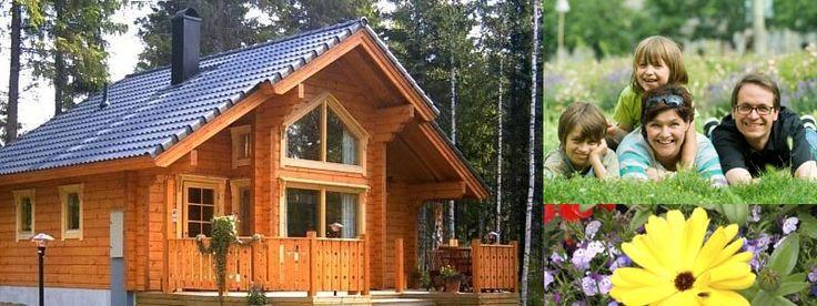 Eco friendly low carbon log houses Scotland UK