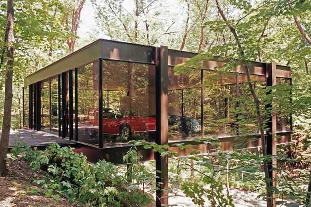Cameron's house from Ferris Bueller