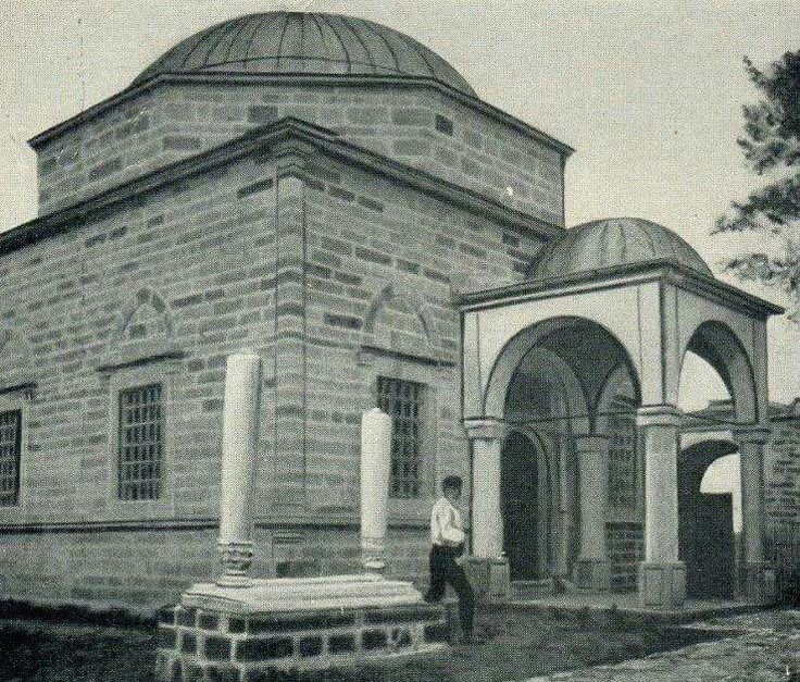 The tomb of Sultan Murad I in Kosovo, early 1900s.