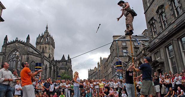 The Fringe Festival, Edinburgh