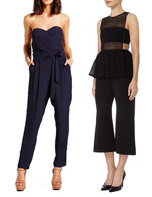 Dark and Dreamy Jumpsuits for Wedding Guests - onefabday.com