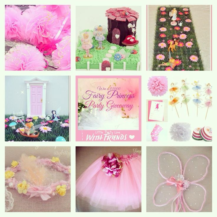 WIN- a Fairy Princess party pack worth $1000 - Little Party Love