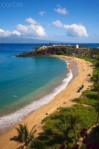 Sheraton Maui Resort & Spa, Kaanapali Beach, Famous Black Rock known for it's snorkeling, Maui, Hawaii