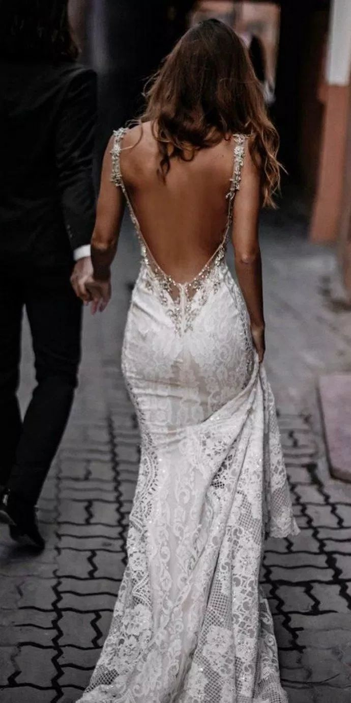 ✔81 illusion long sleeve wedding dresses you'll like 49