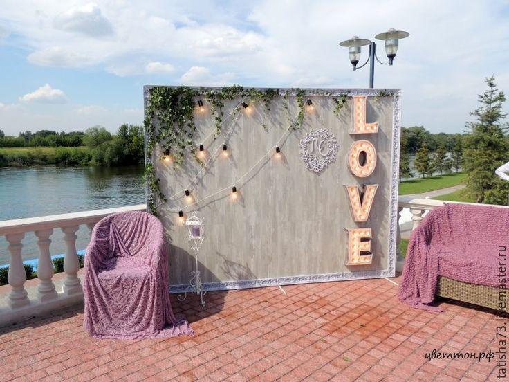 Купить Ретро буквы - белый, ретро буквы, свадебные аксессуары, фотозона, оформление свадьбы