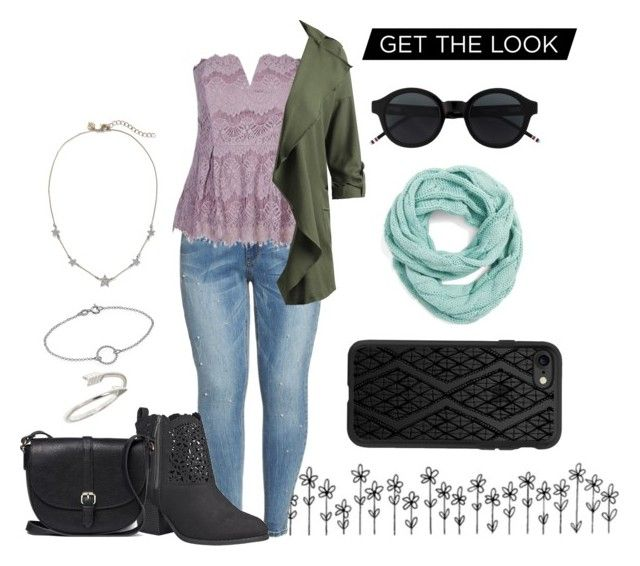 """""""Sem título #47"""" by louisezin ❤ liked on Polyvore featuring Seven7 Jeans, Avenue, John Lewis, CC and Casetify"""