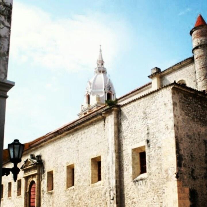 Catedral de #CartagenaDeIndias @#Colombia