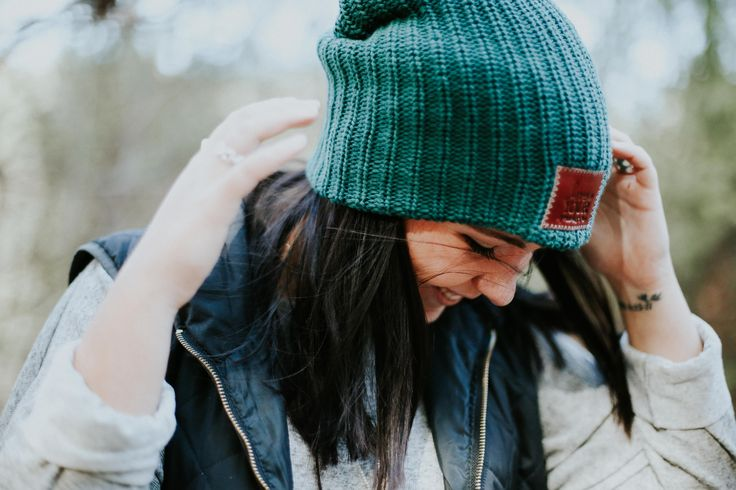 Love Your Melon beanie // fall shoot