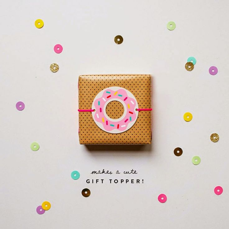 donut printables oh happy day - 600×600