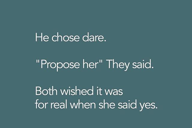 Trtuh or dare..understood.