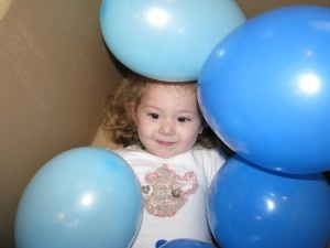 Blue Activities - Box of Balloons Game: Balloon Games