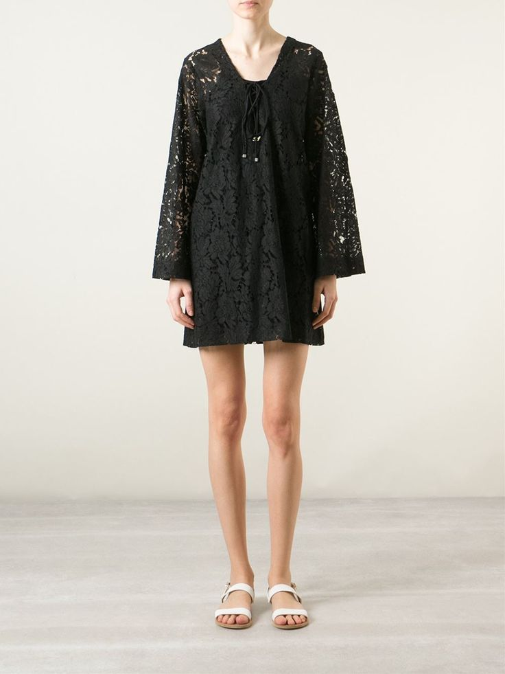 Blumarine Robe-tunique En Dentelle - Idrisi - Farfetch.com