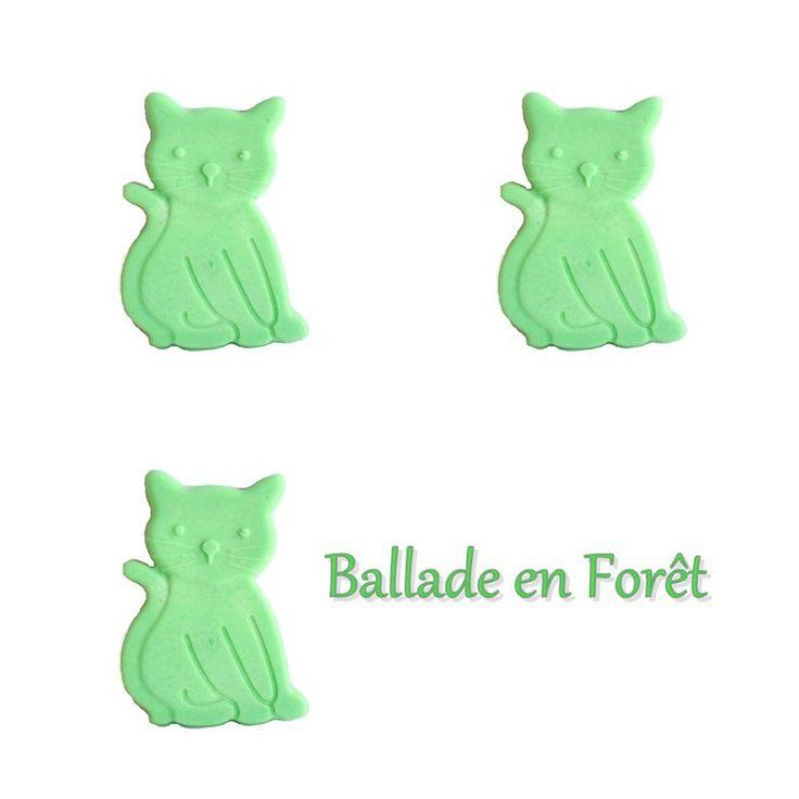 Cire Parfumée Ballade en Forêt X 3 Chat Fondant Brûle Parfum Fondant Parfumé Fondant à Fondre Parfum d'ambiance : Luminaires par dude-bougies