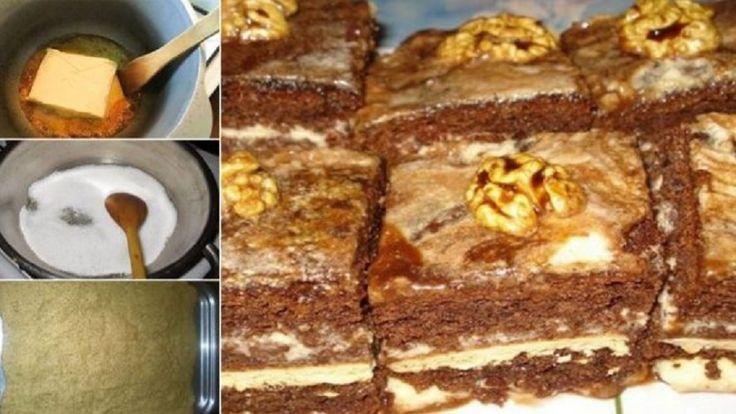 Krémes diós szelet, van az a süti, amiből sosem elég! - Bidista.com - A TippLista!