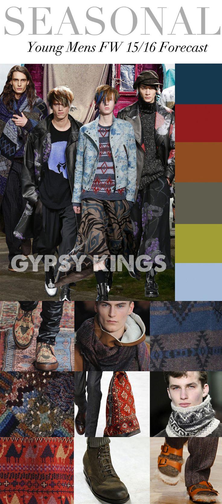 TREND COUNCIL F/W 2015- GYPSY KINGS