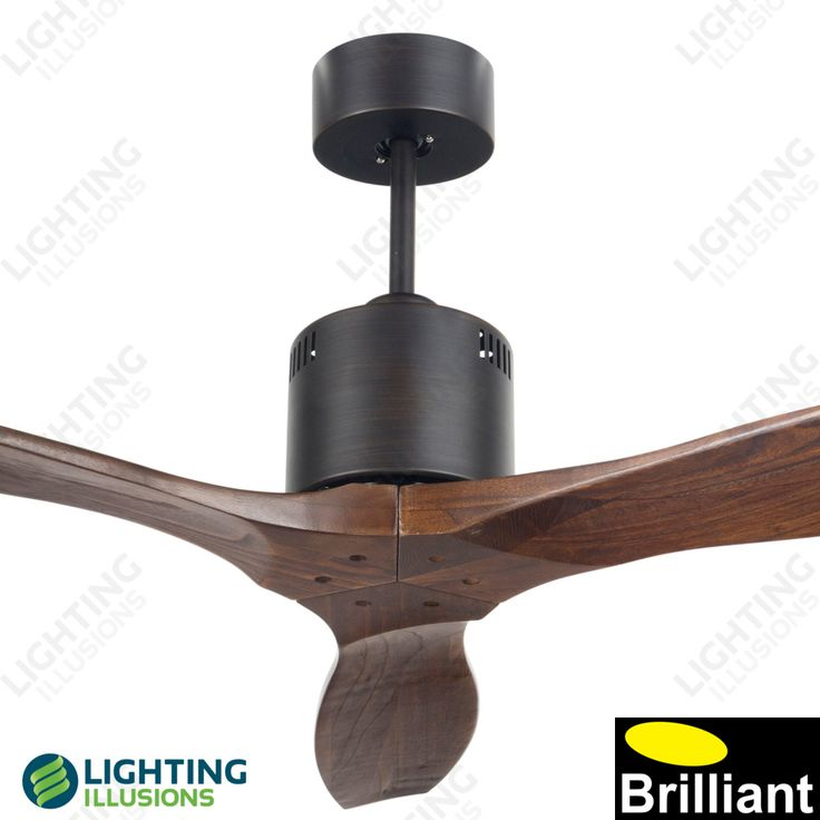 """Antique Bronze Galaxy-II 54"""" Propeller Style DC Ceiling Fan With Remote - Ceiling Fans - Lighting Illusions Online"""