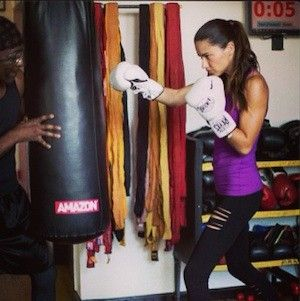 Adriana Lima - Boxing Workout