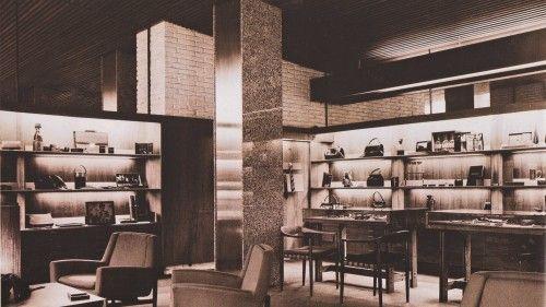 Interior de la tienda Loewe, calle Serrano, de Javier Carvajal (1959)