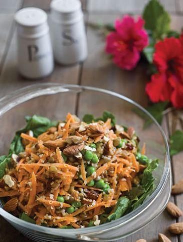 Σαλάτα με κινόα και φακές | Συνταγές, Σαλάτες | Athena's Recipes