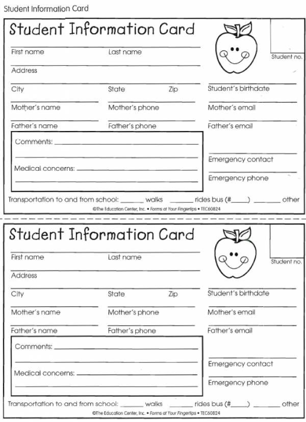 these cards are a great way to organize your students