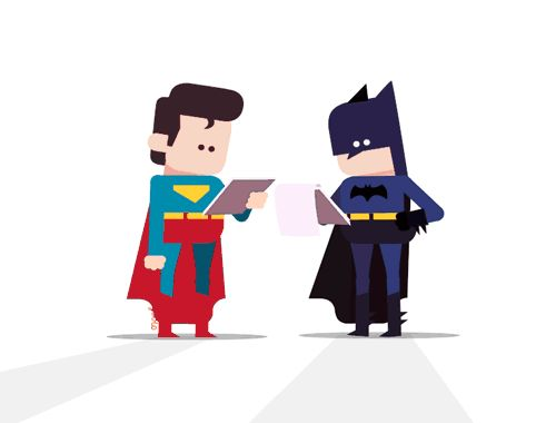 Batman vs Superman Gifs on Behance