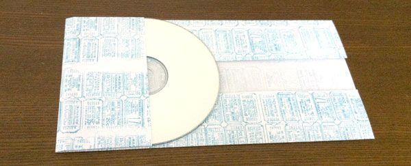 A4用紙でCDケースを作る方法