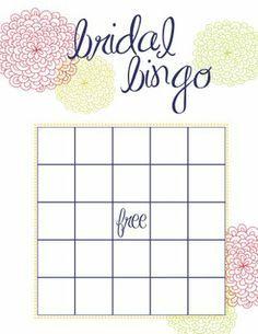 bridal bingo butterfly wedding invitations bridal games