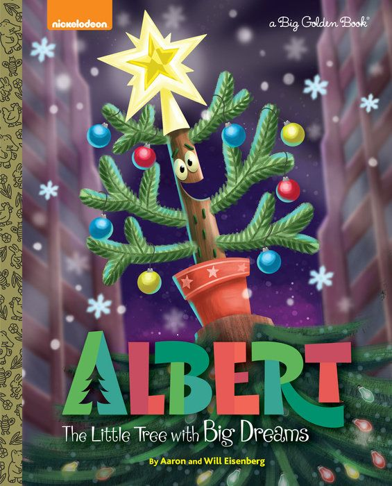 #1009. Albert, December, 2016. Albert is a tiny Douglas fir tree who has big dreams of becoming Empire City's most famous Christmas tree. When the search for this year's tree is announced, Albert hits the road with his two best friends, Maisie the persistently positive plam tree, and Gene the abrasive and blisteringly honest weed, to fulfill his destiny. In a few prickly situations and with Cactus Pete out to stop him, Albert learns the true meaning of Christmas.