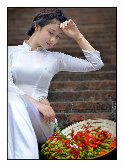 Duyên dáng áo dài nữ sinh | Model: Huyền Ngọc | Áo Dài Việt Nam | Flickr