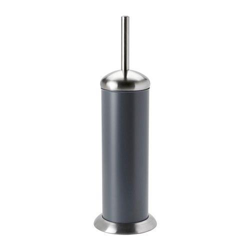 MJÖSA WC-Bürste/Halter IKEA Der innere Kunststoffbehälter ist zur Reinigung leicht zu entnehmen.