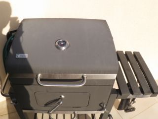 Mangal Schaschlik Grill zu Schaschlik grillen mit Thermometer