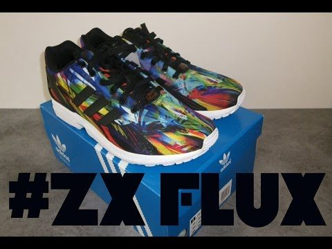 unboxing Adidas ZX FLUX - YouTube
