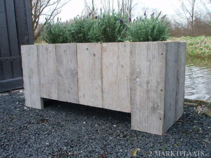 1000 images about steigerhout on pinterest french connection the coffee and planters - Tuin en deco ...