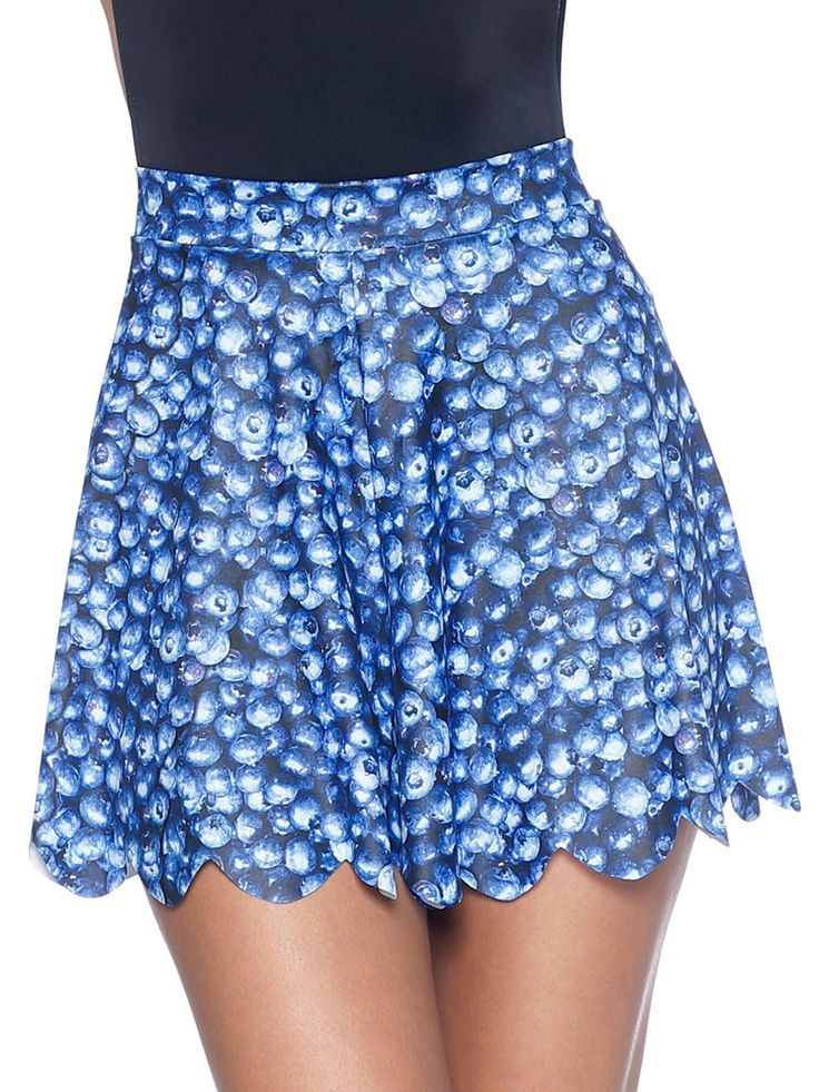 Blueberry Shorties - 48HR (WW ONLY $50AUD) by Black Milk Clothing
