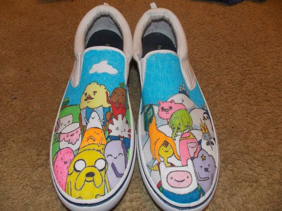 Adventure time shoes!!!!