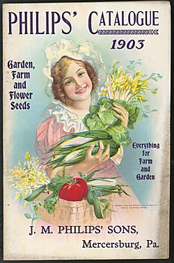J.M. Philips' Sons ~ Garden, Farm and Flower Seeds Catalogue 1903 ~ SIL08-0020-1