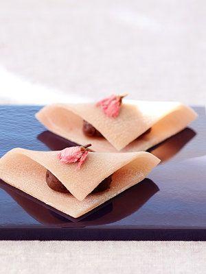 【ELLE a table】桜の上生菓子 生八つ橋風レシピ|エル・オンライン