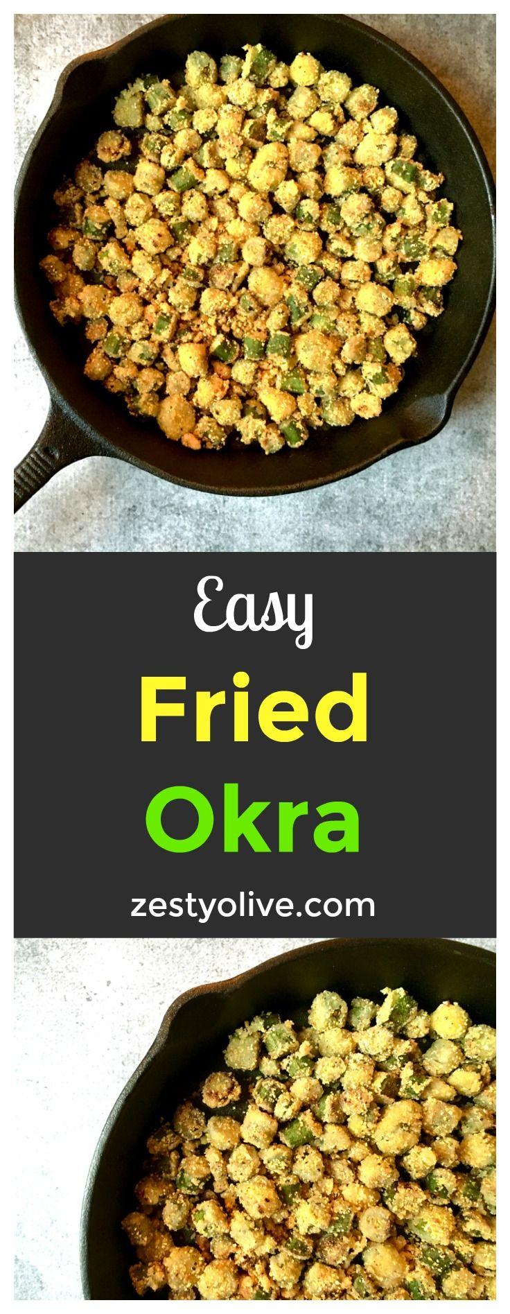 Easy Fried Okra Recipe
