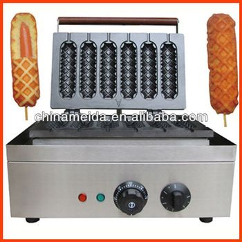 Automatic Industrial Electric Commercial Mini Lolly Waffle Machine high quality waffle maker machine Hotdog Waffle Maker