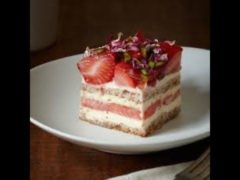 VIVE Cooking School | Nourish Inspire Share - Strawberry Watermelon Cake by Black Star Pastry