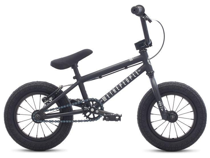 "wethepeople ""Prime 12"" 2017 BMX Bike - 12 Inch | Matt Black | kunstform BMX Shop & Mailorder - worldwide shipping"