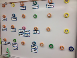 Classroom Freebies: Bottle Cap Word Wall Labels