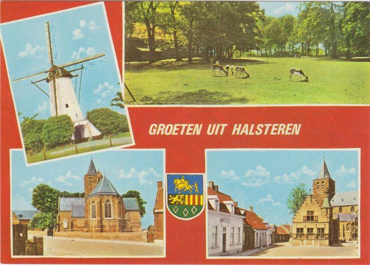 Postcard sent to Indonesia >> Halsteren, The Netherlands