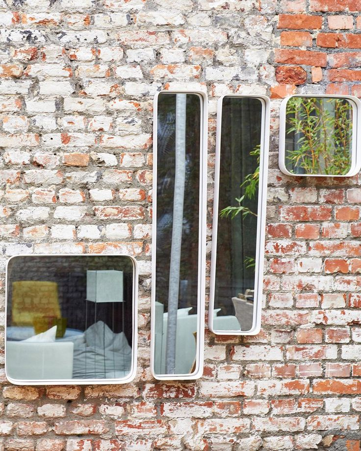 mirrordeco.com — Kelly Rectangular Mirror - White Frame, Large H:91cm