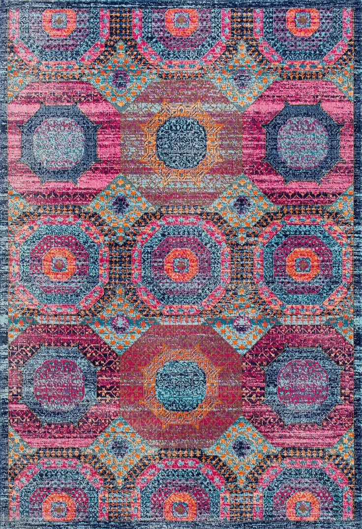 Loving The Rugs Usa Seasoned Sw06 Faded Frilly Medallion