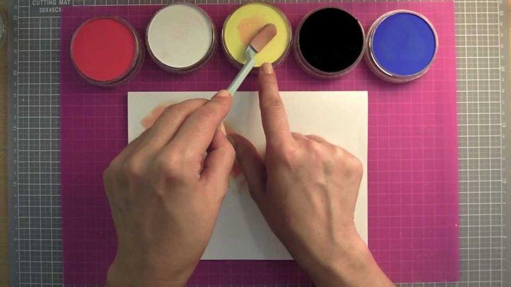 Como utilizar los Pan Pastel: Nociones básicas. Tutorial de manualidades...
