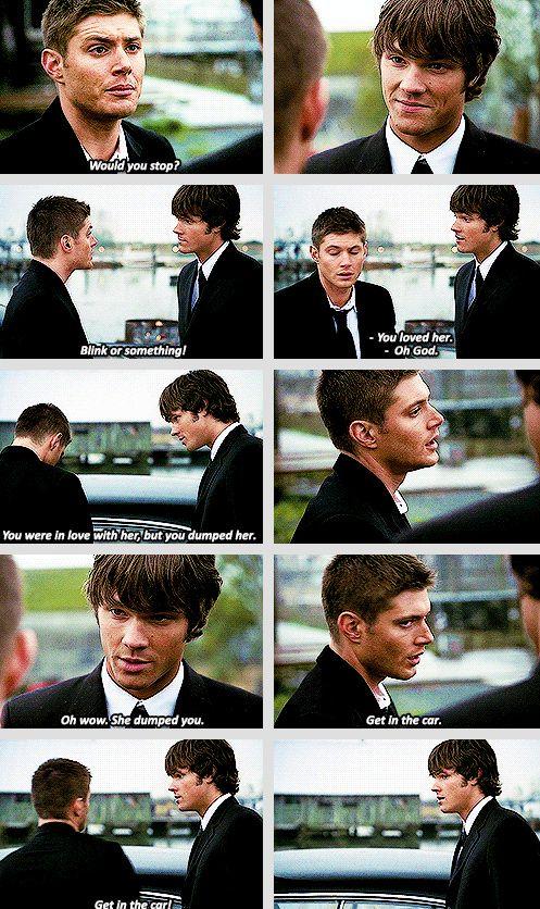 [gifset] 1x13 Route 666 #SPN #Dean #Sam