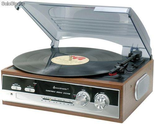 tocadiscos años 70 Igualito era el nuestro. Este era el principal y de mas uso.