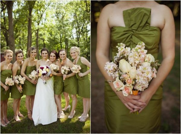 Olive Green Wedding Colour Palette | Mrs2Be